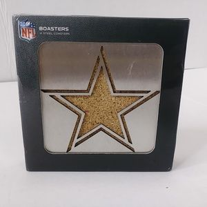 Dallas Cowboys NFL Stainless Steel Coasters